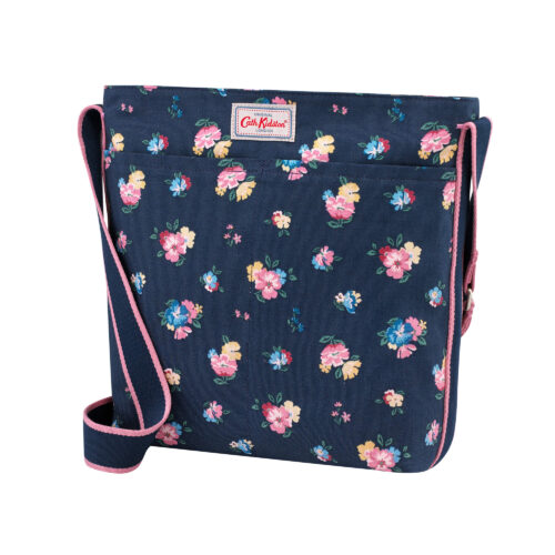 Cath Kidston Park Meadow Bunch Zip Messenger Bag