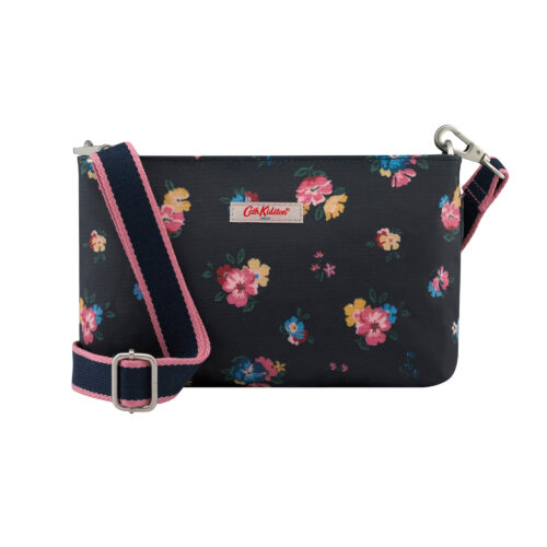 Cath Kidston Park Meadow Bunch Zip Cross Body Bag