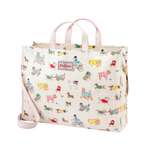 Cath Kidston Small Park Dogs Strappy Carryall