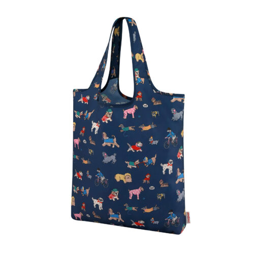 Cath Kidston Small Park Dogs Foldaway Shopper