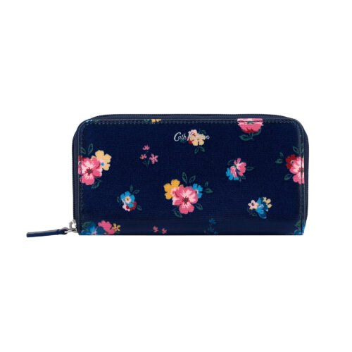 Cath Kidston Park Meadow Bunch Continental Zip Wallet
