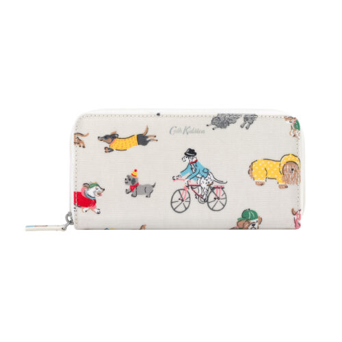 Cath Kidston Park Dogs Small Zip Wallet