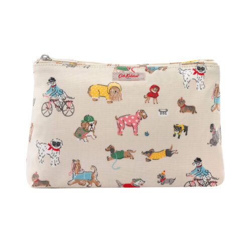 Cath Kidston Small Park Dogs Zip Cosmetic Bag