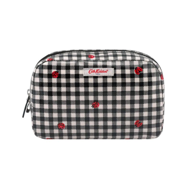Cath Kidston Ladybug Gingham Classic Cosmetic Bag