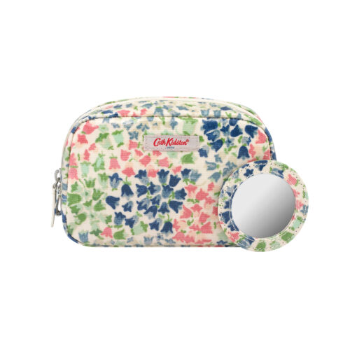 Cath Kidston Tiny Painted Bluebell Classic Make Up Case