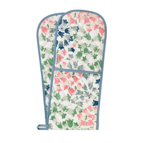 Cath Kidston Painted Bluebell Double Oven Glove