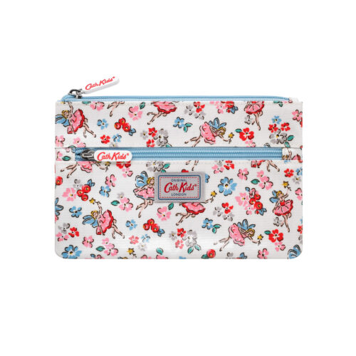 Cath Kidston Little Fairies Kids Double Zip Pencil Case