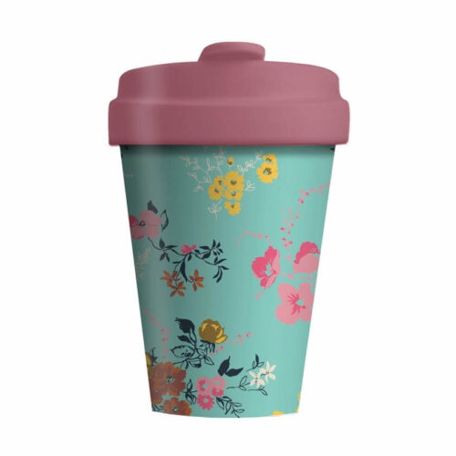 Floral Pattern BambooCup