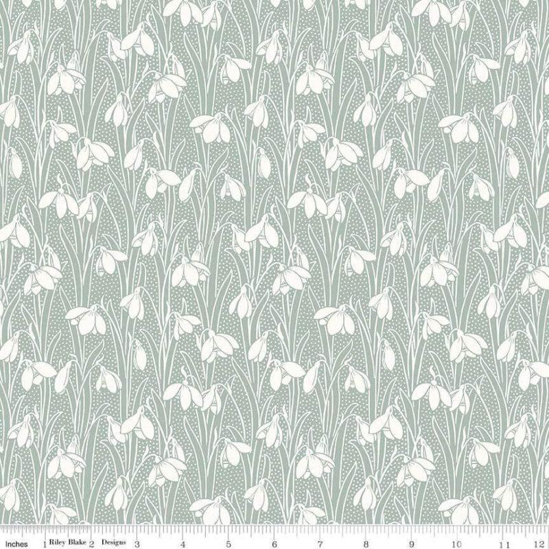 Liberty Fabrics - Hesketh House: Hesketh Sage - £15 per metre