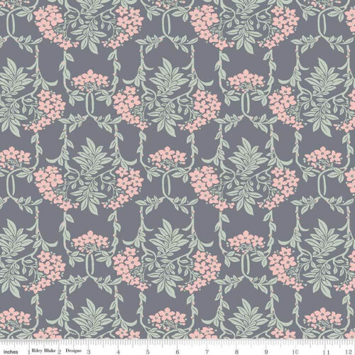 Liberty Fabrics - Hesketh House: Nouveau Mayflower Pink - £15 per metre