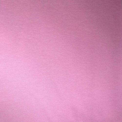 Plain Dyed Cotton Spandex Jersey - Pink: £8 per metre