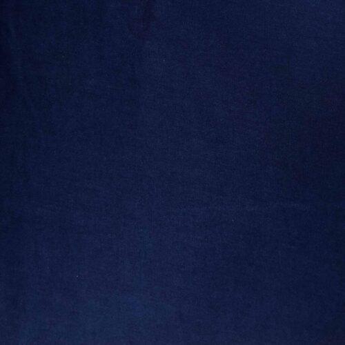 Plain Dyed Cotton Spandex Jersey - Navy: £8 per metre