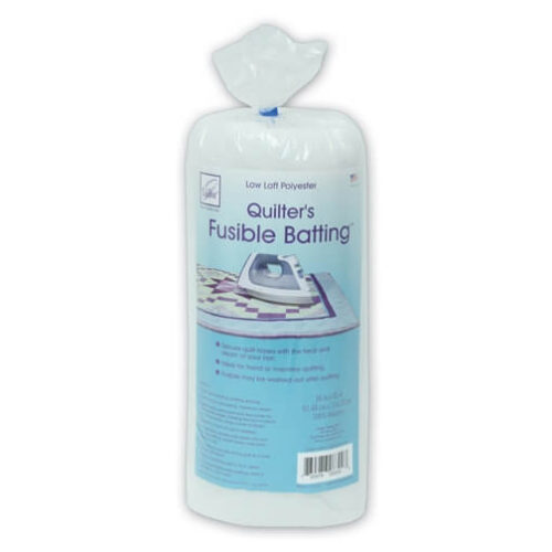 June Tailor Fusible Polyester Batting: Craft Size