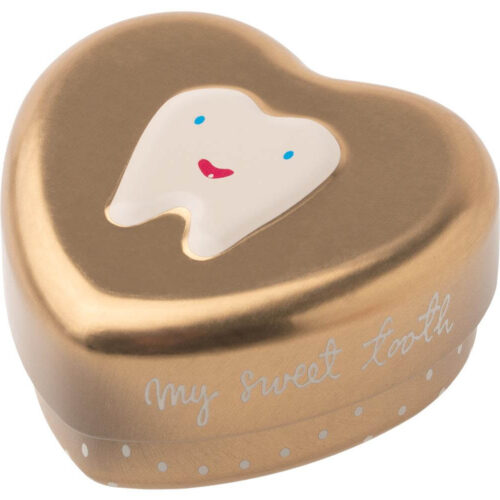 Maileg Tooth Box Gold
