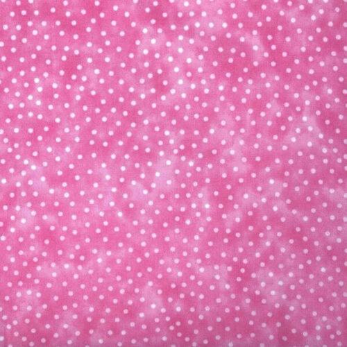 Textured Blenders Baby Pink Spot Cotton Fabric - £7 per metre