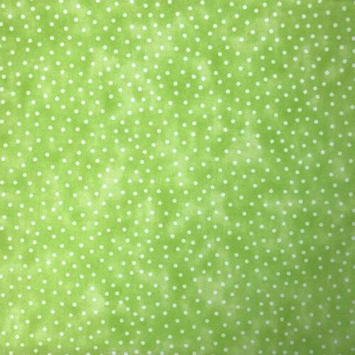Textured Blenders Lime Spot Cotton Fabric - £7 per metre