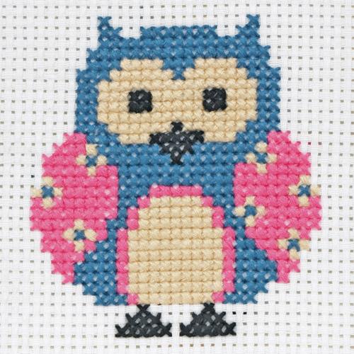 Zoe Owl 1st Cross Stitch Kit