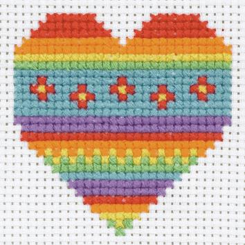 Heart 1st Cross Stitch Kit
