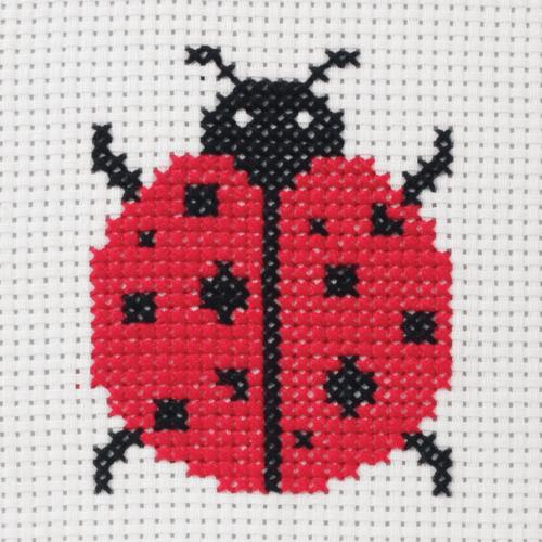 Ladybird 1st Cross Stitch Kit