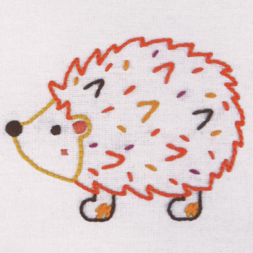 Hedgehog 1st Embroidery Kit
