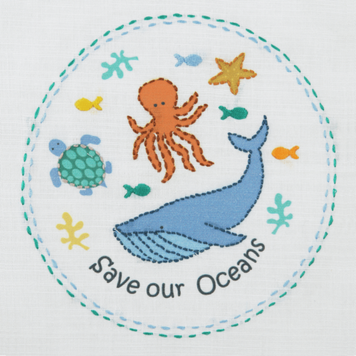 Save Our Seas 1st Embroidery Kit
