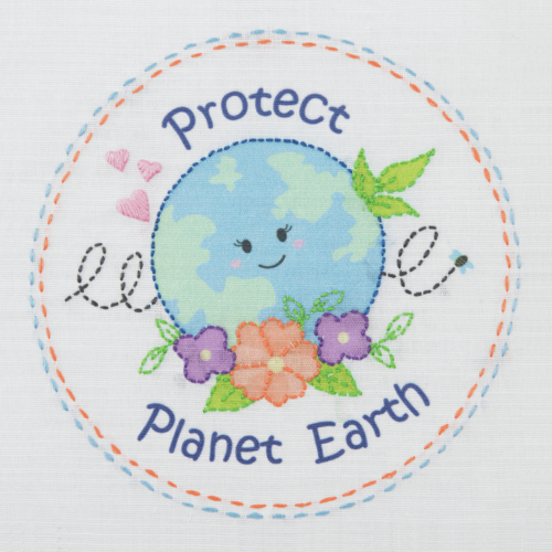 Love Earth 1st Embroidery Kit
