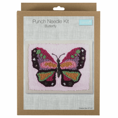 Butterfly Punch Needle Kit