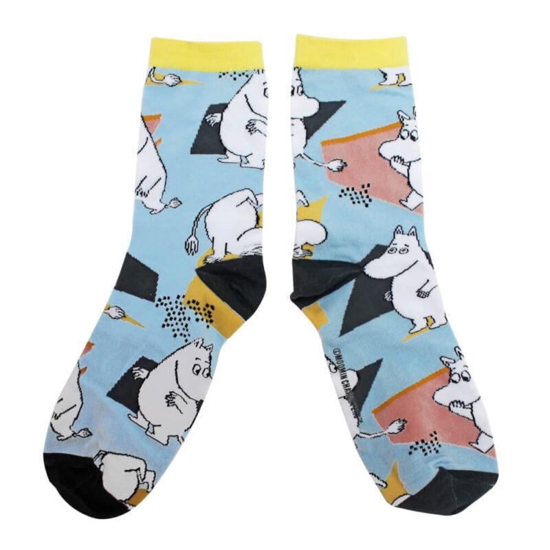Moomin Socks Abstract