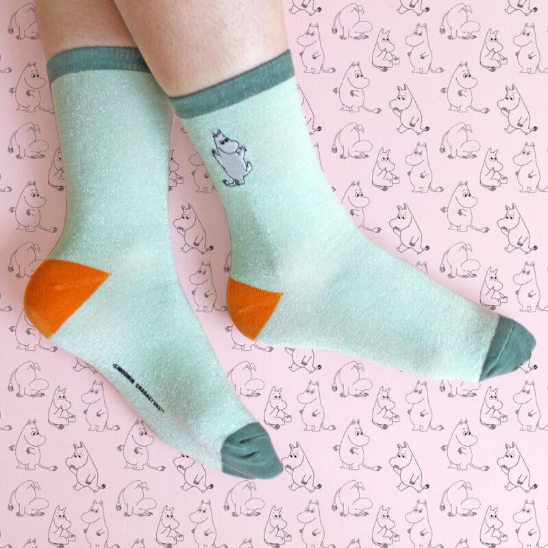 Moomin Socks Moomin Glitter