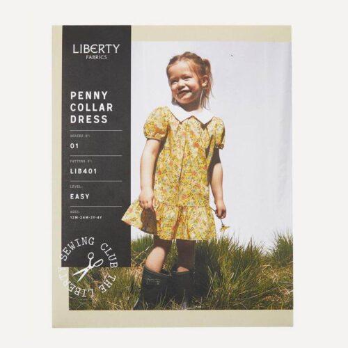 Liberty Fabrics Penny Collar Dress Sewing Pattern