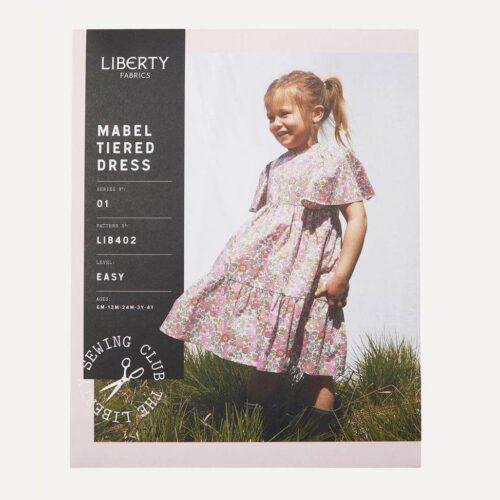 Liberty Fabrics Mabel Tiered Dress Sewing Pattern