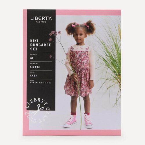 Liberty Fabrics Kiki Dungaree Set Sewing Pattern Ages 3-14 Years
