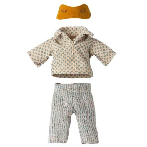 Maileg Clothes Pyjamas for Dad Mouse