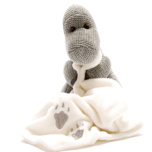 Best Years Small Grey Diplodocus with Comfort Blanket