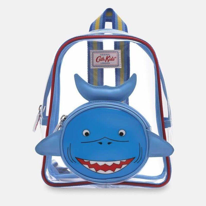 Cath Kidston Novelty Shark Kids Mini Backpack