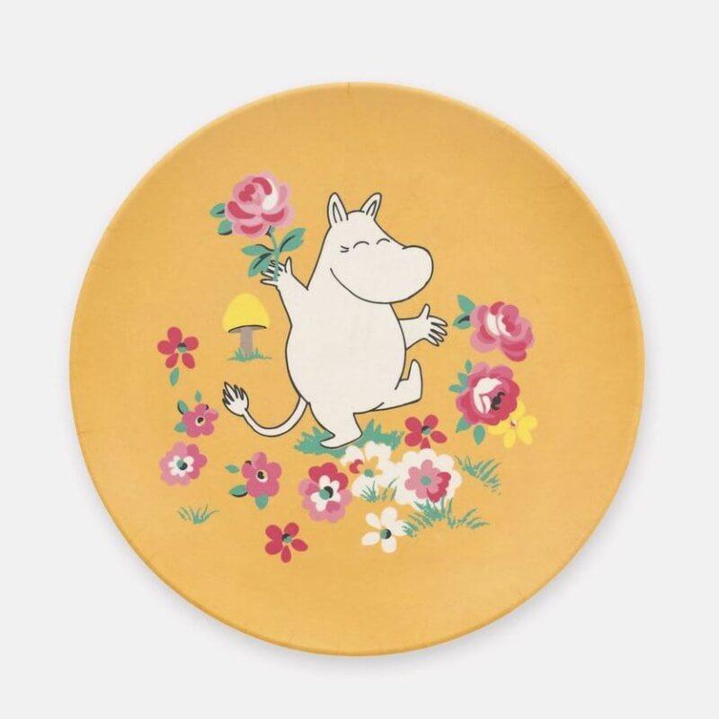 Cath Kidston Moomin Mushroom Bamboo Plate
