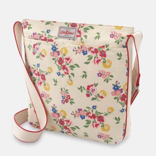 Cath Kidston Summer Floral Zip Messenger Bag