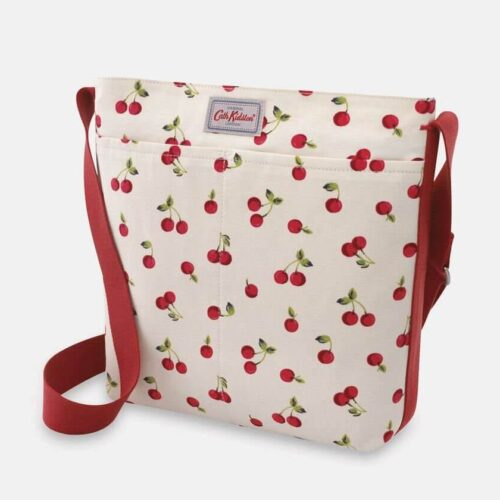Cath Kidston Cherries Zip Messenger Bag