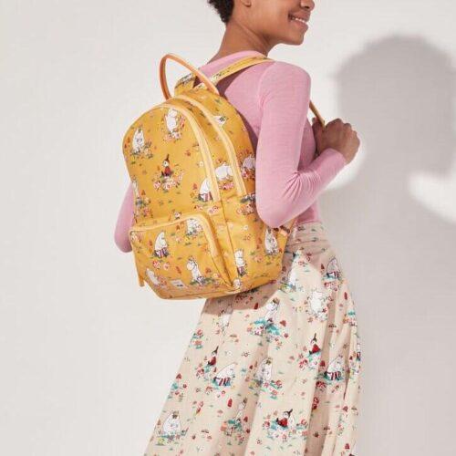 Cath Kidston Moomin Mushroom Scenic Pocket Backpack