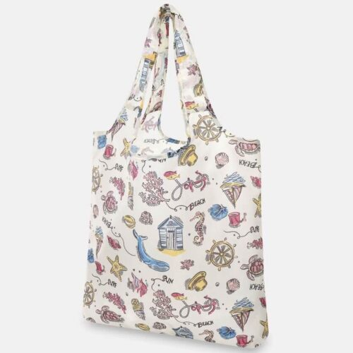 Cath Kidston Summer Time Foldaway Shopper