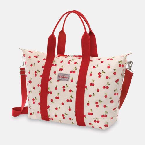 Cath Kidston Cherries Foldaway Overnight Bag