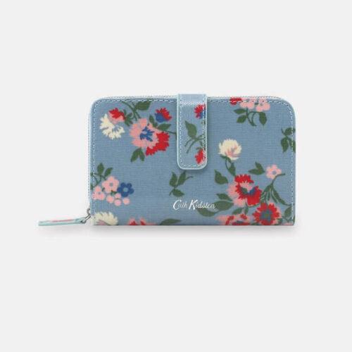 Cath Kidston Summer Floral Folded Zip Wallet