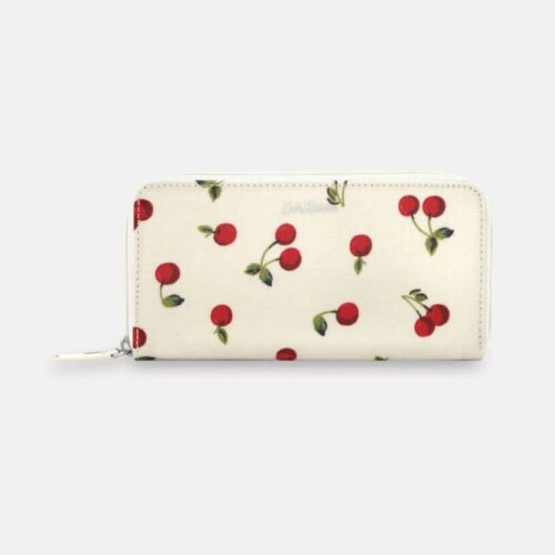 Cath Kidston Cherries Continental Zip Wallet