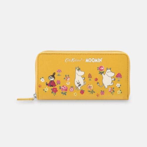 Cath Kidston Moomins Mushroom Continental Zip Wallet