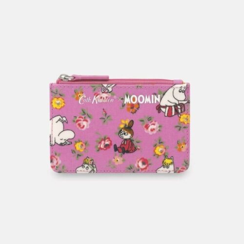 Cath Kidston Moomin Linen Sprig Card and Coin Purse