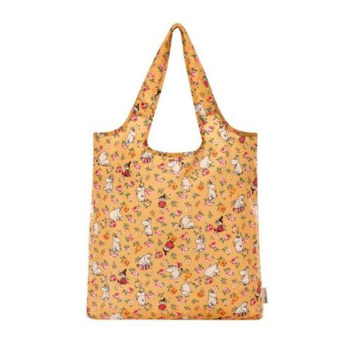 Cath Kidston Moomins Linen Sprig Foldaway Shopper