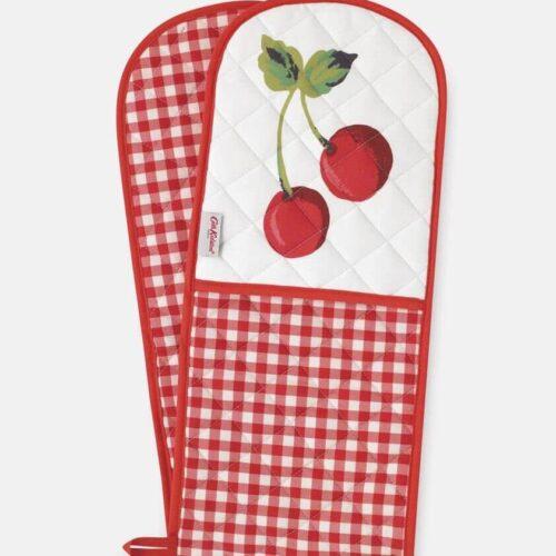 Cath Kidston Cherry Gingham Double Oven Glove