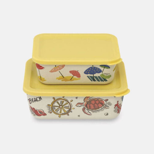 Cath Kidston Sunny Parasols Rectangular Lunch Boxes