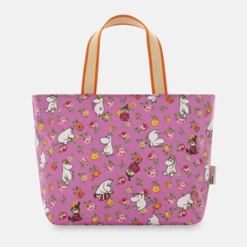 Cath Kidston Moomins Linen Sprig Lunch Tote