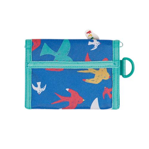 Frugi Pack a Penny Wallet: Rainbow Flight